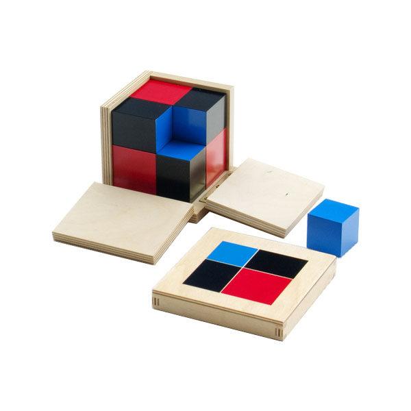 Montessori binomial cube